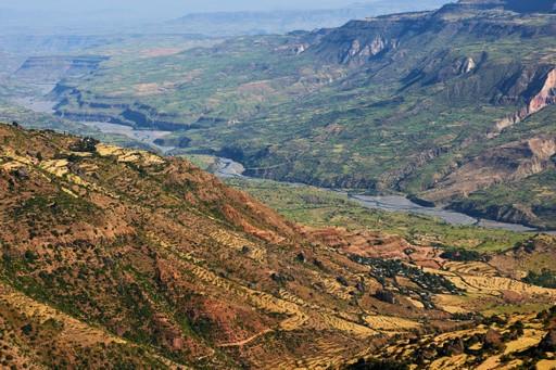 Rift Valley landscape Ethiopia