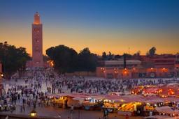 Jemaa el-Fna, Morocco