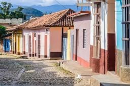 Cobbled streets of Trinidad, Cuba