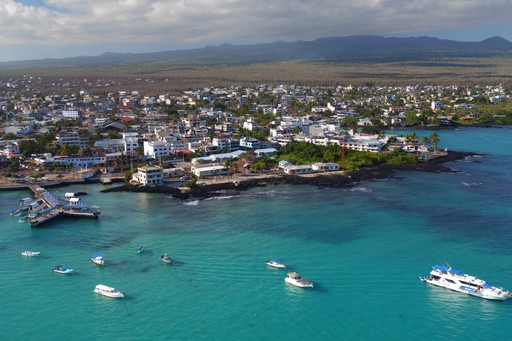 Puerto Ayora in the Galapagos Islands