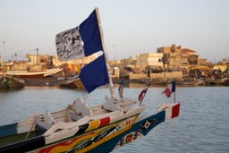 traditional Senegalese boats