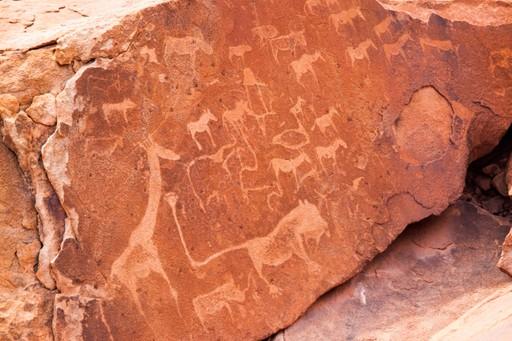 Rock engravings at Twyfelfontein