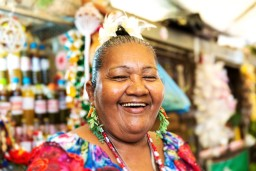Local woman in Salvador