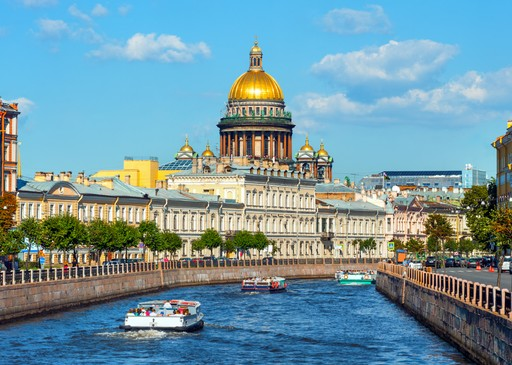 Russia St Petersburg cathedral