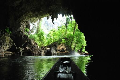 Kong Lor Cave boat trip Laos