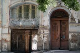 Old building facade in Georgia