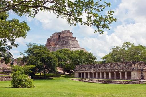 Uxmal Mexico Mayan ruins
