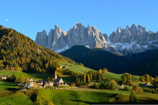 St. Magdalena in Italy's Dolomites