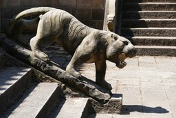 Stone tiger sculpture China