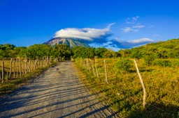 View of Ometepe, Nicaragua