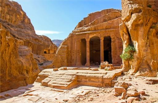 UNESCO site of Petra, Jordan