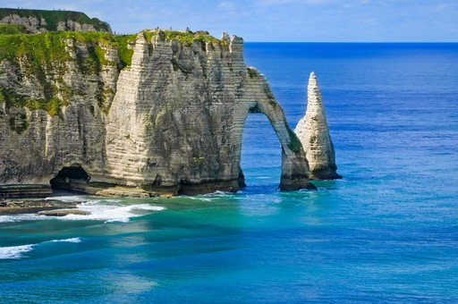 France holidays: Cliffs of Normandy