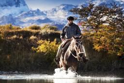 Gaucho in Argentinian Patagonia