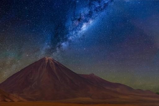stars over Atacama Desert