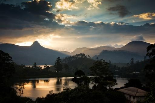 Knuckles mountain range Sri Lanka