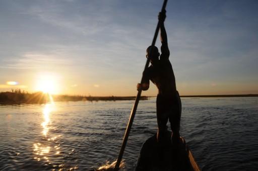 Canoe safari on the lower Zambezi