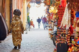 Street market, Marakesh
