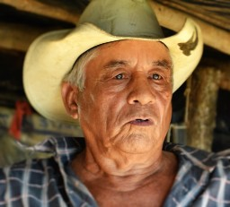 Central American Man with hat
