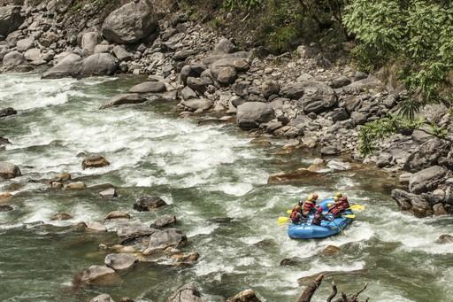 River rafting, Trishuli