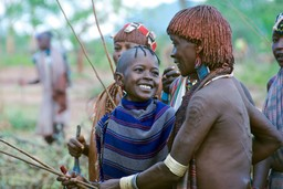 Ethiopian tribes people