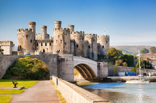 Wales holidays Conwy Castle