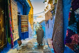 Moroccan local is street