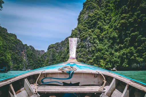 Thailand: Boat to Phi Phi Ley Islands