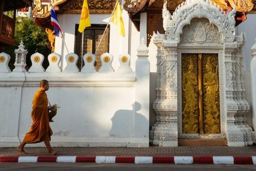 Thailand holidays: Buddhist monk