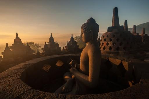 Yogyakarta temple complex