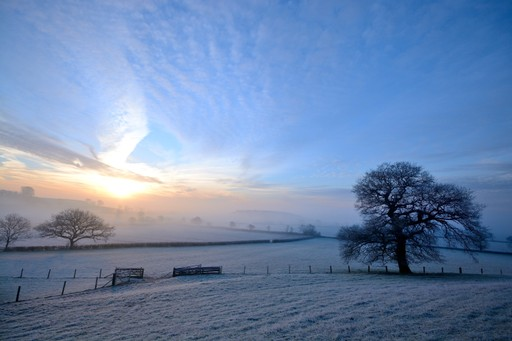 Cotswolds in winter