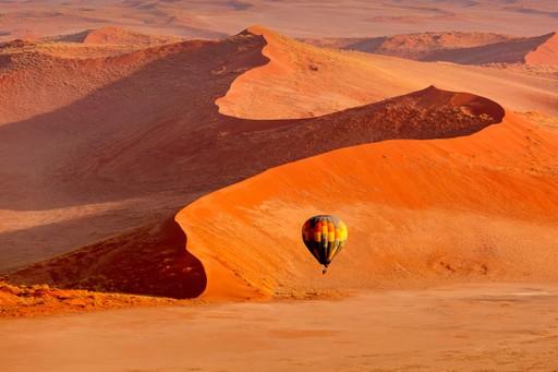 Sossusvlei sand dunes namibia