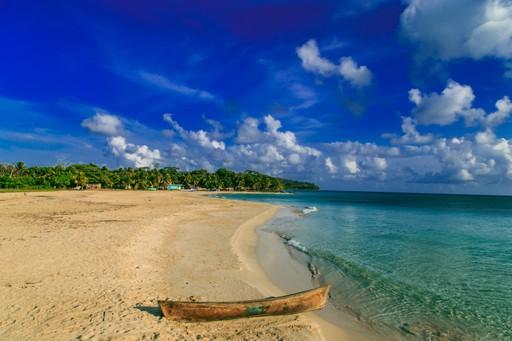 Nicaraguan coastline