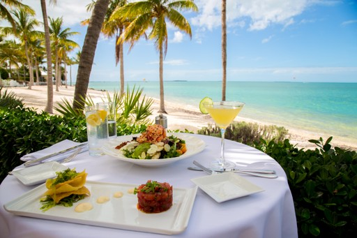Lunch in the Maldives