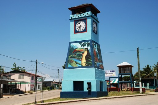 Punta Gorda clocktower, Belize