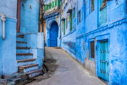 Blue streets of Jodhpur