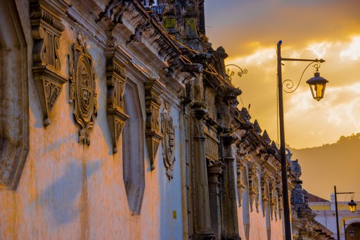 The beautiful architecture of Guatemala city