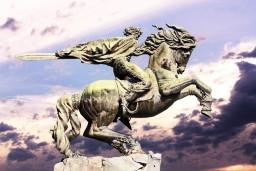 Statue of David of Sassoun, Yerevan