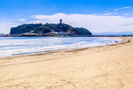 Enoshima beach, Japan