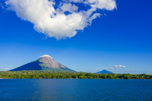 Ometepe twin peaks, Nicaragua
