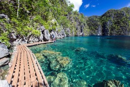 Perfect swimming spot Philippines