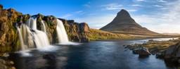 Kirkjufellsfoss waterfall and mountain, Iceland
