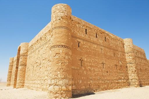 Desert castle Qasr Kharana in Jordan