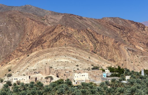 The village of Birkat Al Mauz in Oman