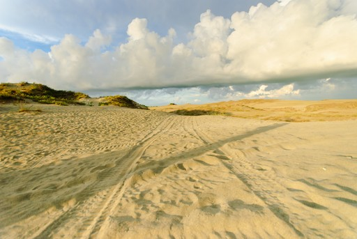 Paoay Sand Dunes of the Philippines