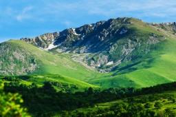 The mountains of Armenia