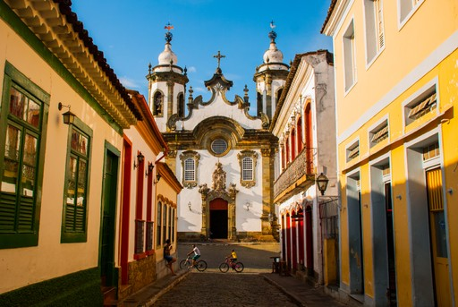 Church in Minas Gerais - Brazil holidays