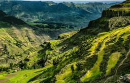 The Ethiopian Highlands