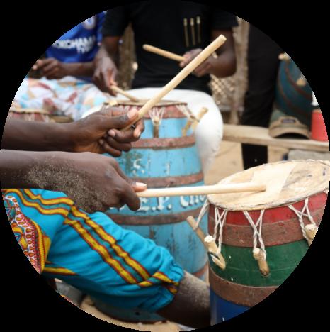 Ghana drums