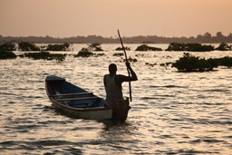 Boatman near Dakar