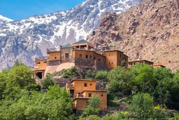 Town in Atlas mountains